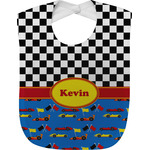 Racing Car Baby Bib (Personalized)