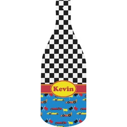 Racing Car Bottle Shaped Cutting Board (Personalized)