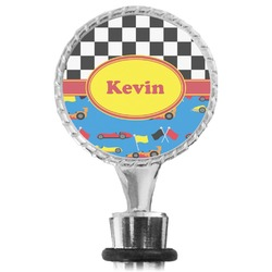 Racing Car Wine Bottle Stopper (Personalized)
