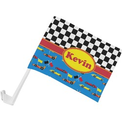 Racing Car Car Flag (Personalized)
