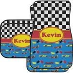Racing Car Car Floor Mats (Personalized)
