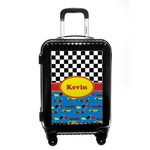 Racing Car Carry On Hard Shell Suitcase (Personalized)