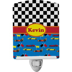 Racing Car Ceramic Night Light (Personalized)