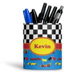 Racing Car Ceramic Pen Holder