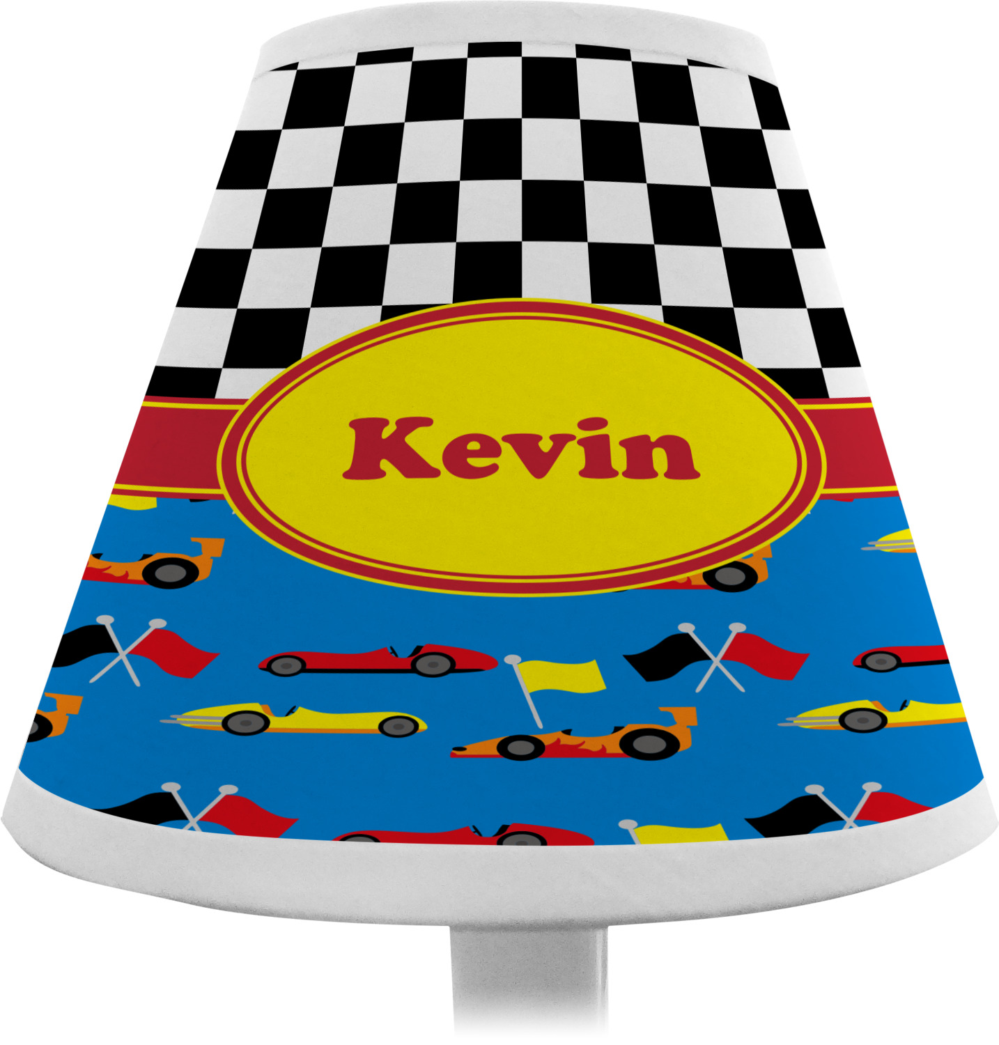 Racing car chandelier lamp shade personalized youcustomizeit racing car chandelier lamp shade personalized aloadofball Choice Image