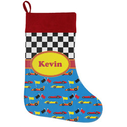 Racing Car Holiday / Christmas Stocking (Personalized)