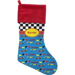 Racing Car Christmas Stocking (Personalized)