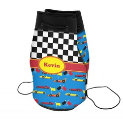 Racing Car Neoprene Drawstring Backpack (Personalized)
