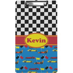 Racing Car Clipboard (Legal Size) (Personalized)