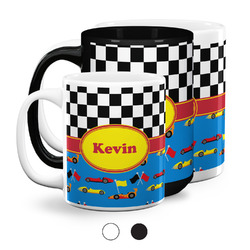 Racing Car Coffee Mugs (Personalized)