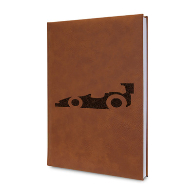 Racing Car Leatherette Journal (Personalized)