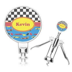 Racing Car Corkscrew (Personalized)