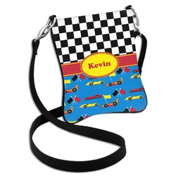 Racing Car Cross Body Bag - 2 Sizes (Personalized)