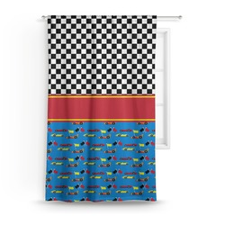 Racing Car Curtain (Personalized)