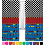 Racing Car Curtains (2 Panels Per Set) (Personalized)