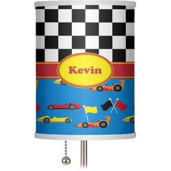 "Racing Car 7"" Drum Lamp Shade (Personalized)"
