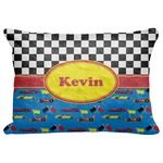 """Racing Car Decorative Baby Pillowcase - 16""""x12"""" (Personalized)"""