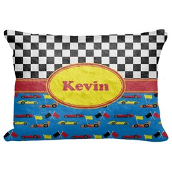 "Racing Car Decorative Baby Pillowcase - 16""x12"" (Personalized)"