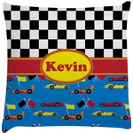 Racing Car Decorative Pillow Case (Personalized)