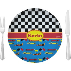 Racing Car Glass Lunch / Dinner Plates 10