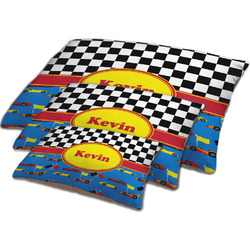 Racing Car Dog Bed w/ Name or Text