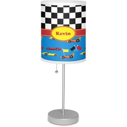 "Racing Car 7"" Drum Lamp with Shade (Personalized)"