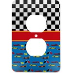Racing Car Electric Outlet Plate (Personalized)