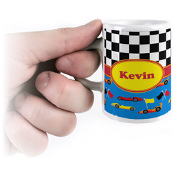 Racing Car Espresso Cups (Personalized)