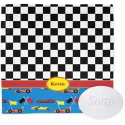 Racing Car Wash Cloth (Personalized)