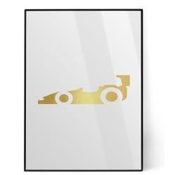 Racing Car Foil Print (Personalized)