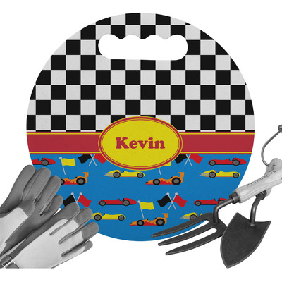 Racing Car Gardening Knee Cushion (Personalized)
