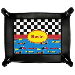 Racing Car Genuine Leather Valet Tray (Personalized)