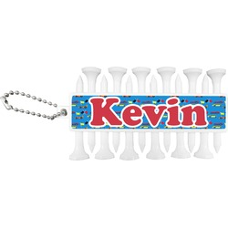 Racing Car Golf Tees & Ball Markers Set (Personalized)