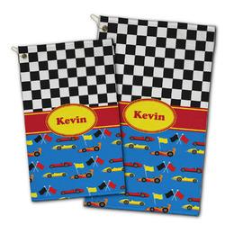 Racing Car Golf Towel - Full Print w/ Name or Text