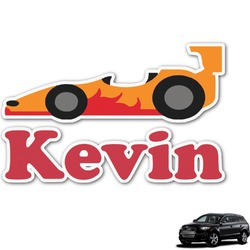 Racing Car Graphic Car Decal (Personalized)
