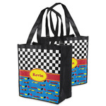 Racing Car Grocery Bag (Personalized)