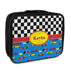 Racing Car Insulated Lunch Bag (Personalized)