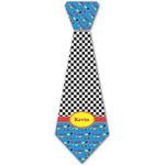 Racing Car Iron On Tie - 4 Sizes w/ Name or Text