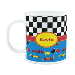 Racing Car Plastic Kids Mug (Personalized)