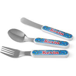 Racing Car Kid's Cutlery (Personalized)