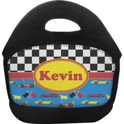 Racing Car Toddler Lunch Tote (Personalized)