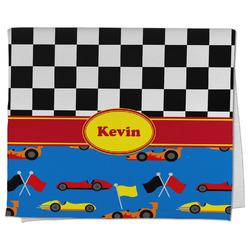 Racing Car Kitchen Towel - Full Print (Personalized)