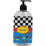 Racing Car Plastic Soap / Lotion Dispenser (Personalized)