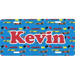 Racing Car Front License Plate (Personalized)