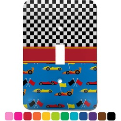 Racing Car Light Switch Cover (Single Toggle) (Personalized)
