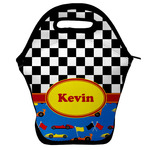 Racing Car Lunch Bag w/ Name or Text