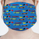 Racing Car Face Mask Cover (Personalized)