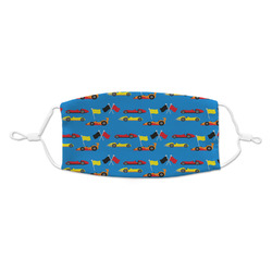 Racing Car Kid's Cloth Face Mask (Personalized)
