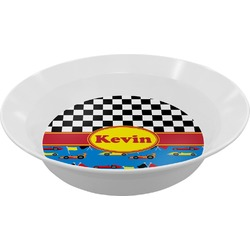Racing Car Melamine Bowl (Personalized)