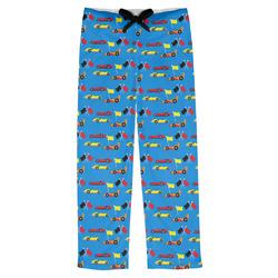 Racing Car Mens Pajama Pants (Personalized)